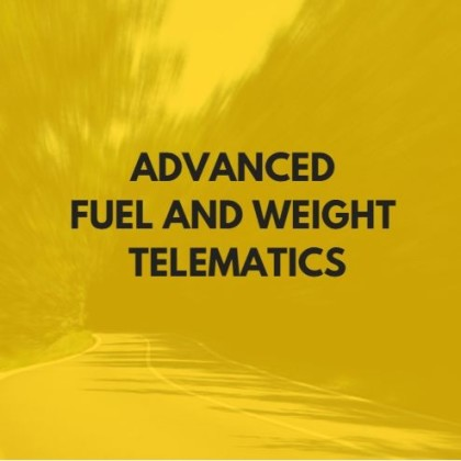Advanced fuel and weight telematics